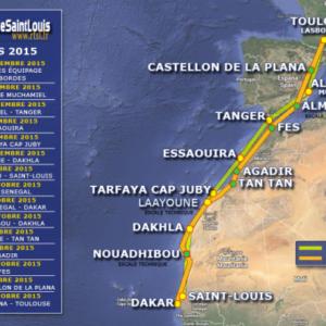 1er Aperçu du Rallye Toulouse St Louis du Sénégal