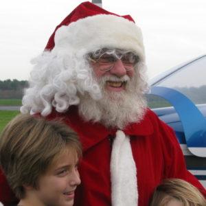 Le Père Noël à l'aéroclub