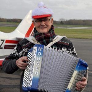 Le Père Noël à l'aéroclub !