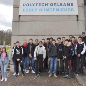 Les BIA visitent Polytech Orléans
